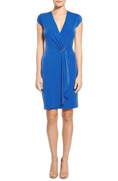 MICHAEL MICHAEL KORS Cap Sleeve Dress. #michaelmichaelkors #cloth #