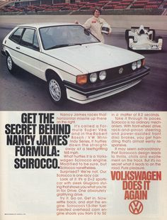 1978 Volkswagen Scirocco. I had one like this myself.