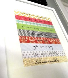 cute strips of paper for a scripture....for me to make!