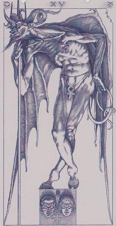 XV. The Devil: Tarot of the III Millenium