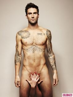 The Voice' host, Adam Levine, strips down to show support for prostate cancer in Cosmo spread.