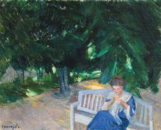 Vaszary János - Déli pihenő Painter, Pics, Mucha, Painting, Friant, Serov, Art, Alfons Mucha