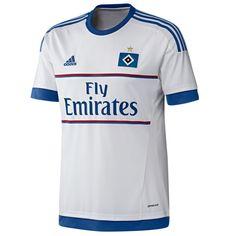 New Hamburg Kit 2015-16- Adidas HSV Home Jersey 2015-2016 Camisas De fc17f9dcb75de