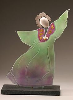 At The Gallery: Kathy Eggert, Glass Art and Judaica