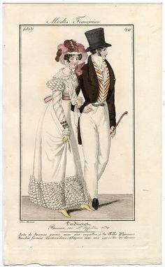 A charming lady and gentleman 1823 L'Indiscret