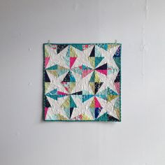 Wonky Star Wall Quilt, 2013