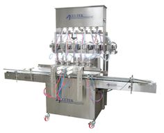 Accutek's positive displacement pump filling machines are best suited for filling viscous products, but they can be used to fill thin products as well.