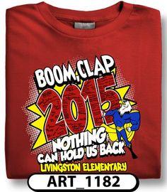 996e6d98a Comic book themed field day t-shirt designs are so popular! spiritwear.com