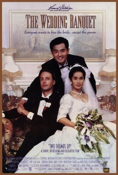 The Wedding Banquet , starring Winston Chao, May Chin, Ya-lei Kuei, Sihung Lung. To satisfy his nagging parents, a gay landlord and a female tenant agree to a marriage of convenience, but his parents arrive to visit and things get out of hand. #Comedy #Drama #Romance