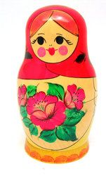 Northern Maidens 7pc Viatka Matryoshka Doll
