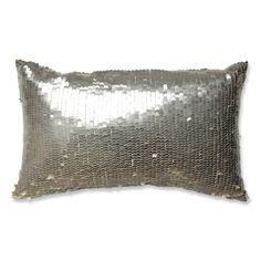 Pillow Perfect Mermaid -White Throw Pillow