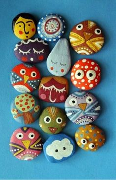 6 Ways To Paint A Rock