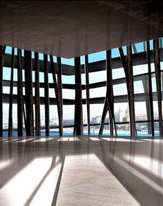 MuCEM : Vue de l'intérieure - www.rudyricciotti.com
