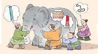 I sei ciechi e l'elefante // Video fiaba