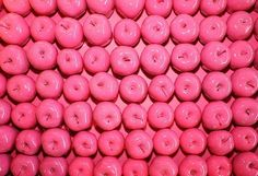 Pink Covered Apples - Breast Cancer Awareness