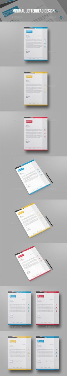 Business Letterhead Designs Custom Company Letterheads USA - psd letterhead template