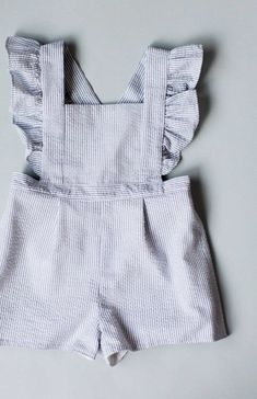Handmade Striped Toddler Romper | blytheandreese on Etsy