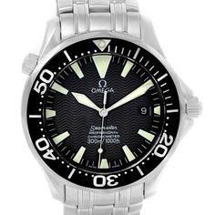 12603 Omega Seamaster Professional 300m Black Dial Mens Watch 2254.50.00 SwissWatchExpo #menluxurywatches