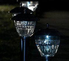 Paradise 10-Pc. Solar Light Set w/LumaBright Technology