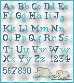 Have you decided to cross-stitch the school apron for your child? Did you find a cross-stitch alphabet pattern? If you are looking for an embroidery pattern with simple cross stitch letters, I suggest you to register now at www. Cross Stitch Letter Patterns, Cross Stitch Letters, Cross Stitch Charts, Cross Stitch Designs, Stitch Patterns, Cross Stitch Numbers, Cross Stitch Font, Cross Stitching, Cross Stitch Embroidery