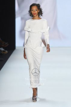 https://www.cityblis.com/6074/item/16112 | SS '14 #11 Silk Jersey Gown - $4291 by ROMERO BRYAN | Silk Jersey Gown with attached French Grosgrain High Waist Belt detail. Back split. | #Dresses
