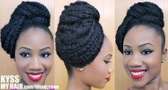 The Tilted Crown Natural Hair Care, Natural Hair Styles, Hair Styles 2014, Bride Accessories, Kinky Hair, Naturally Curly, Hair Inspiration, Black Hair, Braids
