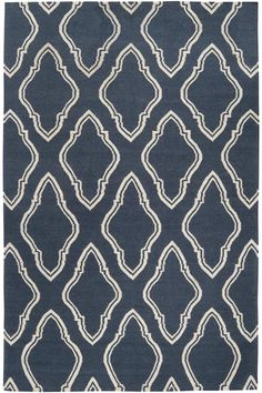 Lawton Area Rug: the trellis pattern of this area rug will make any floor pretty. #HDCrugs HomeDecorators.com