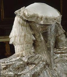 Marie Antoinette's gown.