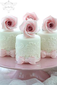 wedding mini cakes 3