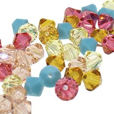 5328 4mm Swarovski Elements Crystal Mix - Santa Fe | Fusion Beads
