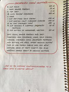 Muffin Tin Recipes, Muffin Tins, Bread Recipes, Soup Recipes, Easy Recipes, Easy Meals, Jalapeno Corn, Yellow Cornmeal, Creamed Corn
