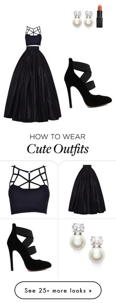 """My First Polyvore Outfit"" by karolyna-anna-p on Polyvore featuring mode, Judith Jack, Barry M en Naeem Khan"