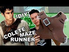 [DIY] Maze Runner - Colete Thomas para Cosplay   Panda Vermelho - YouTube