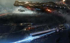 In the sci-fi game Dreadnought, you take the helm of a gargantuan spaceship for all-out tactical action warfare in space and across the skies of distant worlds.