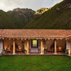PERU HACIENDA INKATERRA This lodge, on 100 rolling-green acres, and with its own onsite organic farm, is more the home of a friend than a hotel.