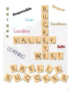 Scrabble theme - Intro page