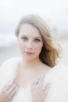 Bridal Beauty by Agape Airbrush Makeup and Hair @ Coastal Winter Wedding by Karla Korn Photography, Botanical Bliss, and Rockstar Catering + Event Co.