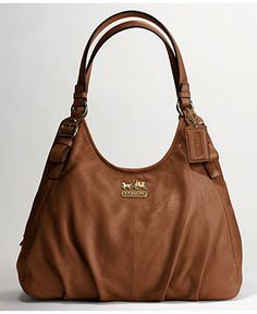 This Madison Leather Maggie Shoulder Bag by Coach is so incredibly hot! A friend has it in another color, and it's a beautiful bag. Coach Handbags, Coach Purses, Coach Bags, Purses And Bags, Big Handbags, Cheap Purses, Red Purses, Cheap Handbags, Coach Outlet Store