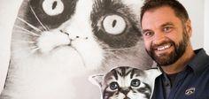 Mit geschicktem Storytelling zum Erfolg – Olaf Kunz von watson.ch im Interview Olaf, Interview, Cats, Animals, Gatos, Animales, Animaux, Animal, Cat