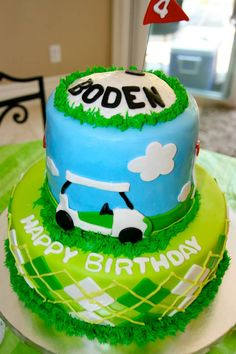 Golf party: Boden is FORE!
