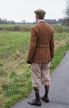 Plus-fours and Norfolk jacket