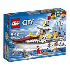 #Lego #LEGO® #60147   LEGO City Angelyacht Gebäudeset  Alter: 5-12, Teile: 144LEGO ® City Angelyacht 60147.    Hier klicken, um weiterzulesen.  Ihr Onlineshop in #Zürich #Bern #Basel #Genf #St.Gallen