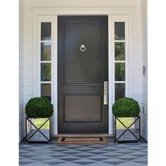 Black Front Door Ideas Pet Lovers