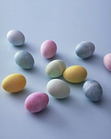 Dyeing Easter Eggs Naturally - Martha Stewart Home & Garden