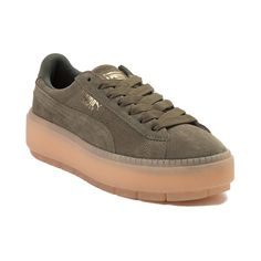 137044a5173 Womens Puma Suede Platform Trace Athletic Shoe
