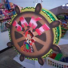 Piñata especial, timón de Jacke el Pirata. Estamos a la orden en Maracay Edo. Aragua. Tlf: 0243-283-3677 / 431-2825 Whatsapp: 0424-396-0233 #Maracay #piñata #Piñateria #Piñatas #Niños #Niñas #fiestasinfantiles #fiestas #Eventos #Decoración #Tutys #jackeylospiratas #jackeelpirata #disneyjunior