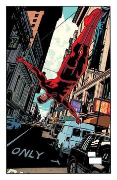 Daredevil #13 by Chris Samnee *