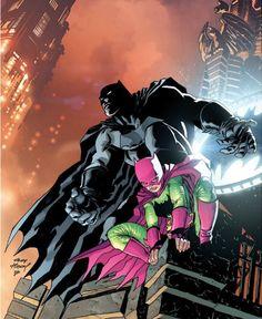 Batman - Dark Knight Returns - The Master Race Batman And Batgirl, Im Batman, Batman Art, Comic Book Artists, Comic Artist, Comic Books Art, Dark Knight Returns, Comics For Sale, Batman Universe