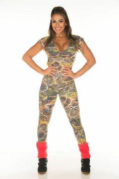 Macacão comprido manguinha GarotaFit 1.1 - LudFit | Moda Fitness | Roupa para ginástica