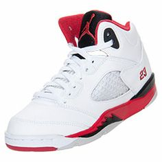 Inspired by Michael Jordan's continued flight status and a WWII fighter plane the Air Jordan 5 was another custom Tinker Hatfield tinkered to perfection. With another scoring title under his belt and a 69 point outbreak against the Cavaliers, Jordan ne
